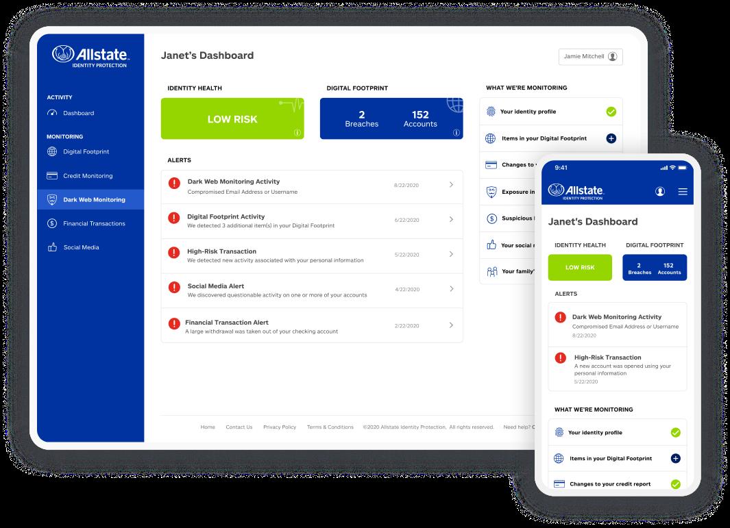 Allstate Identity Protection Portal